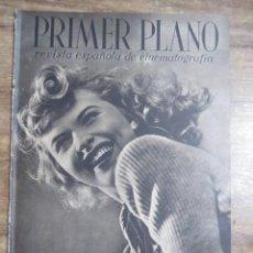 Cine: MFF.- PRIMER PLANO.- REVISTA ESPAÑOLA DE CINEMATOGRAFIA.- Nº.34- 8 JUNIO 1941.- SUSANNA FOSTER.-. Lote 225332665