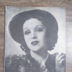 Cine: MFF.- PRIMER PLANO.- REVISTA ESPAÑOLA DE CINEMATOGRAFIA.- Nº.57- 16 NOVIEMBRE 1941.- ROSITA MORENO.-. Lote 225365015