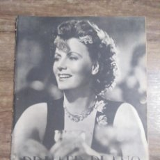 Cine: MFF.- PRIMER PLANO.- REVISTA ESPAÑOLA DE CINEMATOGRAFIA.- Nº.59- 30 NOVIEMBRE 1941.- GRETA GARBO.-. Lote 225366360