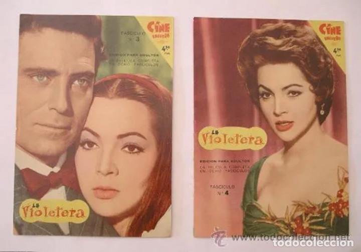 Cine: La Violetera, completa 8 fascículos, Sara Montiel año 58. Coleccion Mandolina, Ediciones Fher - Foto 2 - 225453050