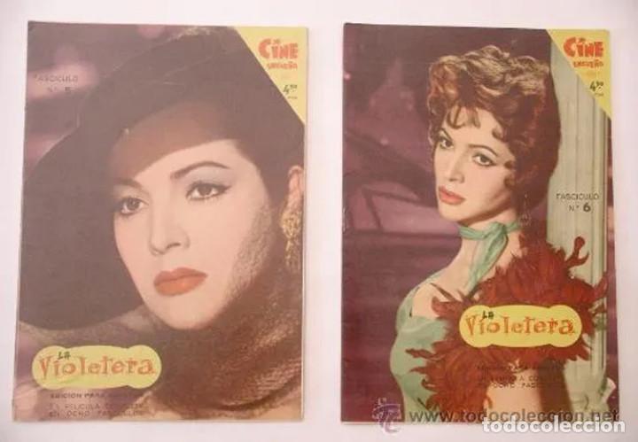 Cine: La Violetera, completa 8 fascículos, Sara Montiel año 58. Coleccion Mandolina, Ediciones Fher - Foto 3 - 225453050