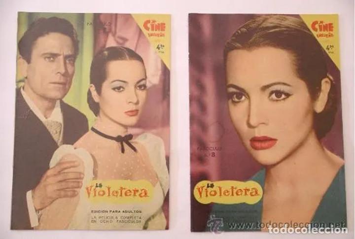 Cine: La Violetera, completa 8 fascículos, Sara Montiel año 58. Coleccion Mandolina, Ediciones Fher - Foto 4 - 225453050