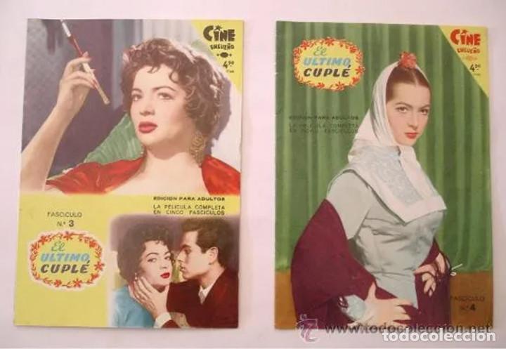 Cine: El Ultimo Cuplé completa 8 fascículos, Sara Montiel, año 58. colección Mandolina, Ediciones Fher - Foto 2 - 225453141