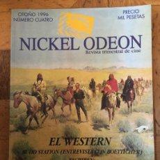 Cinema: REVISTA NICKEL ODEON NICKELODEON Nº 4 ESPECIAL WESTERN. Lote 225764985
