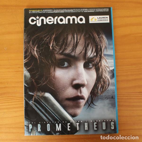 CINERAMA 207 PROMETHEUS, LOS MERCENARIOS 2, EL DICTADOR, LOBOS DE ARGA, AMAZING SPIDER-MAN (Cine - Revistas - Cinerama)
