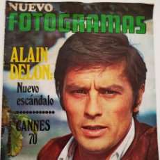 Cine: REVISTA FOTOGRAMAS Nº 1126 ALAIN DELON JULITA MARTINEZ ALFREDO MAYO CANNES CATHERINE DENEUVE BEATLES. Lote 226607112