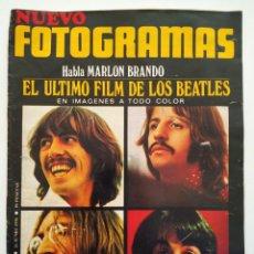 Cine: REVISTA FOTOGRAMAS Nº 1132 THE BEATLES MIKAELA CONRADO SAN MARTIN MONICA VITTI CLAUDA CARDINALE. Lote 226617422