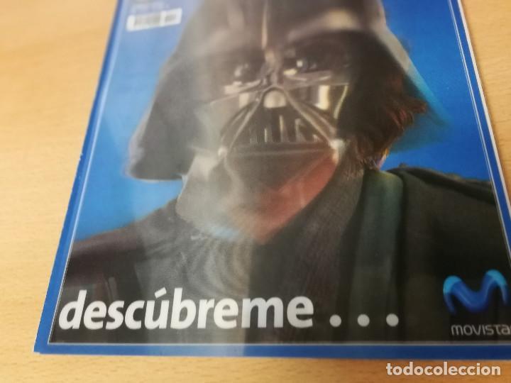 Cine: revista Cinemanía junio 2005, portada especial y suplemento Star Wars , con portada con holograma - Foto 3 - 226654100
