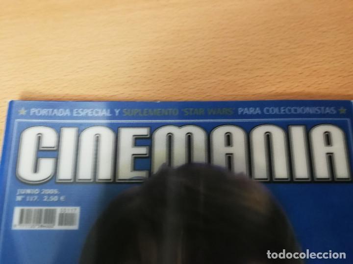Cine: revista Cinemanía junio 2005, portada especial y suplemento Star Wars , con portada con holograma - Foto 4 - 226654100