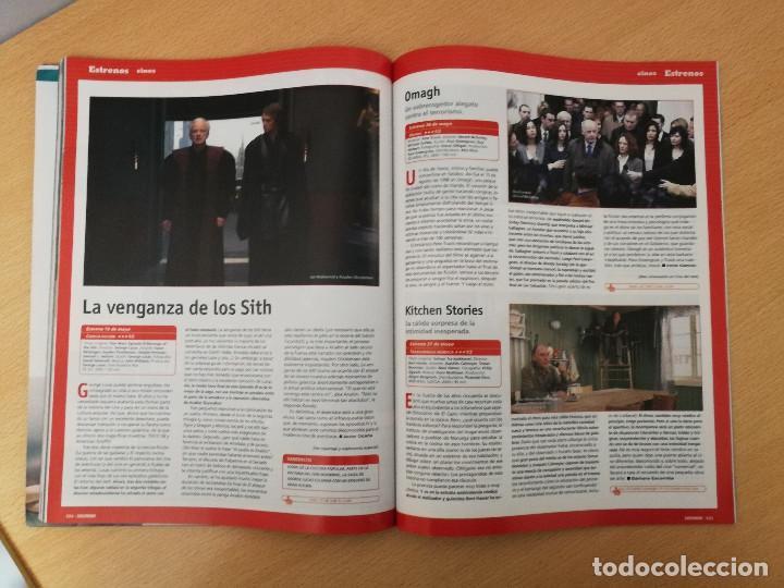 Cine: revista Cinemanía junio 2005, portada especial y suplemento Star Wars , con portada con holograma - Foto 6 - 226654100