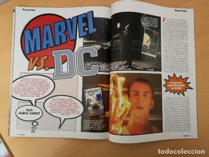 Cine: revista Cinemanía junio 2005, portada especial y suplemento Star Wars , con portada con holograma - Foto 7 - 226654100