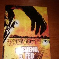 Cine: EL BUENO EL FEO Y EL MALO LIBRITO FILMAX-CATALOGO-8 HOJAS DOBLES MUCHAS FOTOS-. Lote 226667075
