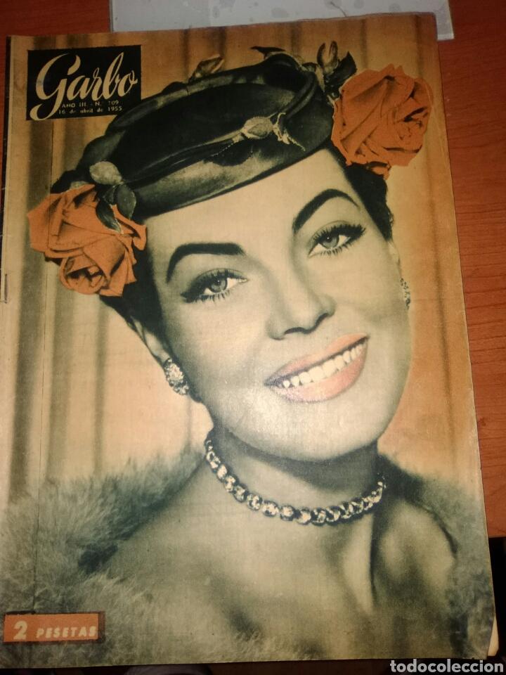 GARBO REVISTA-N-109-1955-JARMA LEWIS- (Cine - Revistas - Cinecolor)