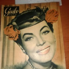 Cine: GARBO REVISTA-N-109-1955-JARMA LEWIS-. Lote 226830505