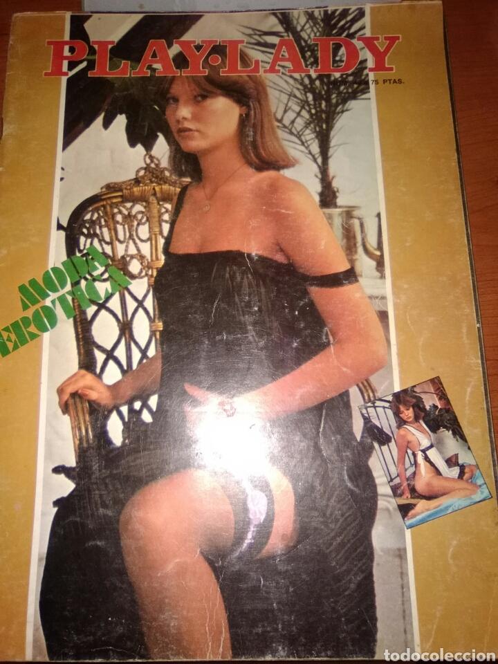 PLAY-LADY-REVISTA DEL DESTAPE-N-49-1977-REPORTAJES DE C.J.CELA-V.CASAS-FOTOS DESTAPE- (Cine - Revistas - Imágenes de la actualidad)
