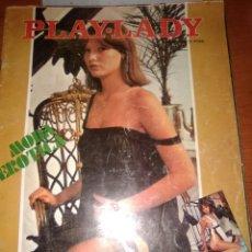 Cine: PLAY-LADY-REVISTA DEL DESTAPE-N-49-1977-REPORTAJES DE C.J.CELA-V.CASAS-FOTOS DESTAPE-. Lote 226831446