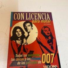 Cine: CON LICENCIA PARA MATAR 007. Lote 226955845