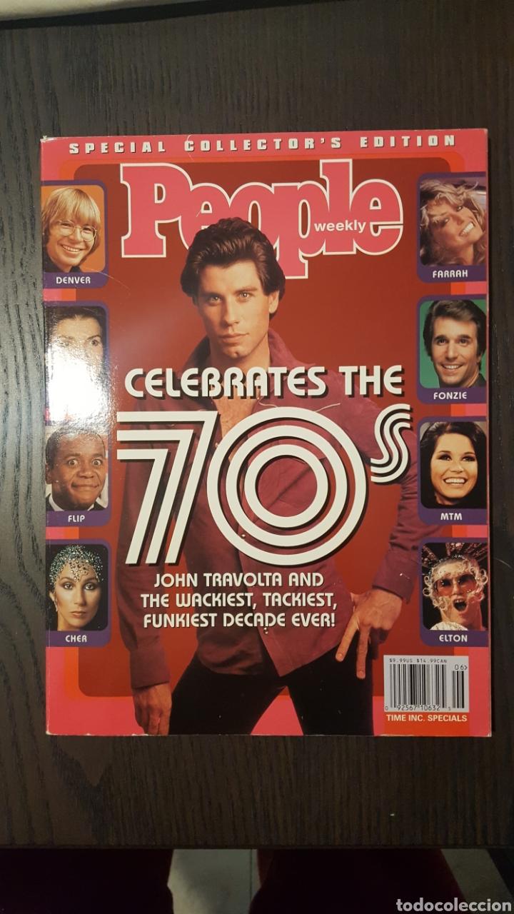 REVISTA - PEOPLE WEEKLY CELEBRATES THE 70S SPECIAL COLLECTOR'S EDITION JOHN TRAVOLTA COVER (Cine - Revistas - Otros)