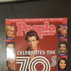 Cine: REVISTA - PEOPLE WEEKLY CELEBRATES THE 70S SPECIAL COLLECTOR'S EDITION JOHN TRAVOLTA COVER. Lote 227006960