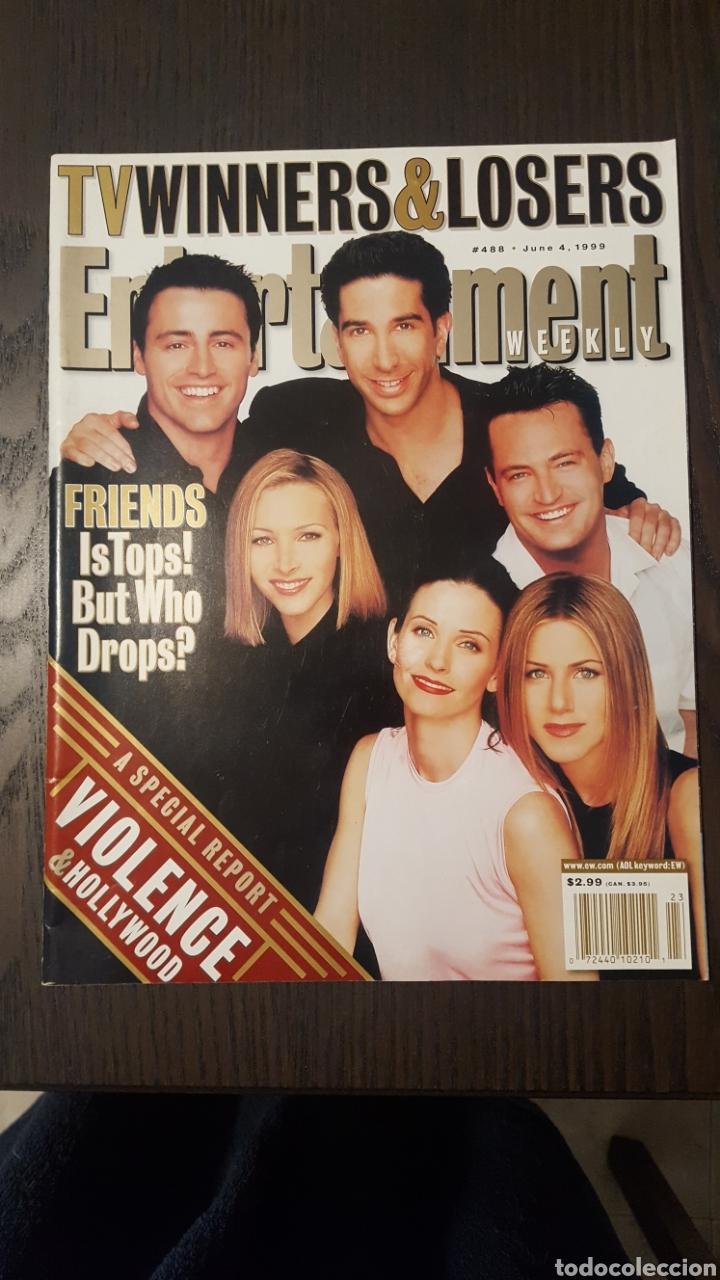 Cine: Lote dos revistas - Entertainment Weekly # 488 Magazine + 10th anniversary special collectors issue - Foto 2 - 227010830