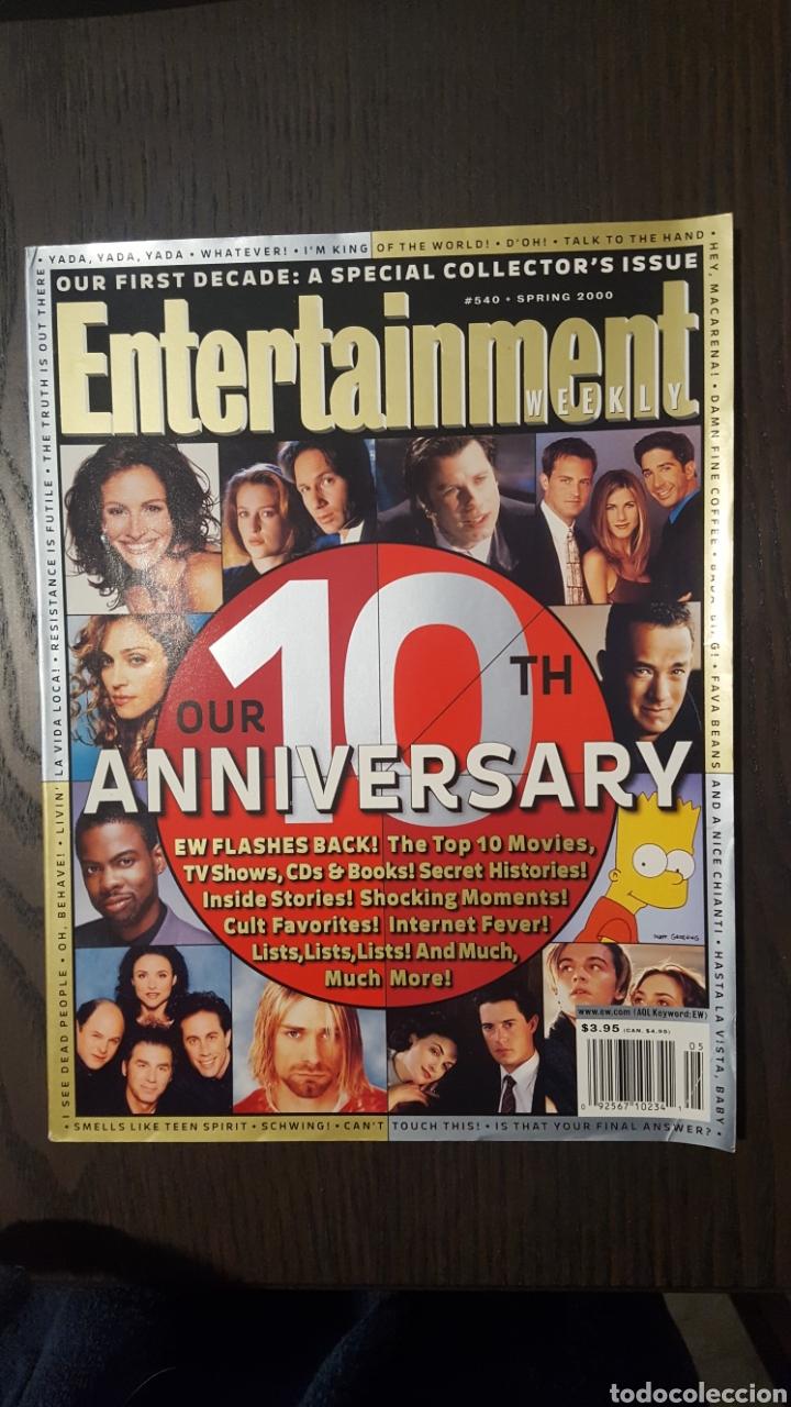 Cine: Lote dos revistas - Entertainment Weekly # 488 Magazine + 10th anniversary special collectors issue - Foto 5 - 227010830
