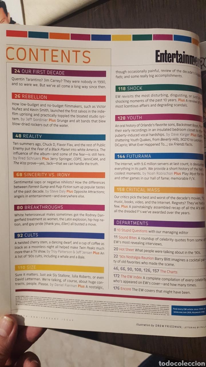 Cine: Lote dos revistas - Entertainment Weekly # 488 Magazine + 10th anniversary special collectors issue - Foto 6 - 227010830