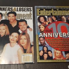 Cine: LOTE DOS REVISTAS - ENTERTAINMENT WEEKLY # 488 MAGAZINE + 10TH ANNIVERSARY SPECIAL COLLECTOR'S ISSUE. Lote 227010830