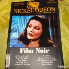 Cine: NICKEL ODEON Nº 20. OTOÑO 2000. FILM NOIR. REVISTA DE CINE. Lote 227220880