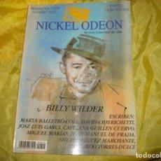 Cine: NICKEL ODEON Nº 10. PRIMAVERA 1998. ESPECIAL BILLY WILDER. REVISTA DE CINE. Lote 227225040