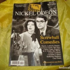 Cine: NICKEL ODEON Nº 6. PRIMAVERA 1997. ESPECIAL SCREWBALL COMEDIES. REVISTA DE CINE. Lote 227225230