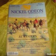 Cine: NICKEL ODEON Nº 4. OTOÑO 1996 . ESPECIAL : EL WESTERN. REVISTA DE CINE. Lote 227225450