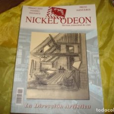 Cine: NICKEL ODEON Nº 27. VERANO 2002 . LA DIRECCION ARTISTICA . REVISTA DE CINE. Lote 227225705