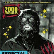 Cine: 2000 MANIACOS- Nº 52- ESPECIAL PAUL NASCHY. Lote 227472952