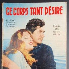 Cine: REVISTA FRANCESA FILM ESE CUERPO TAN DESEADO BELINDA LEE, DANIEL GÉLIN, DANY CARREL, ANTONIO BALPETR. Lote 227478685
