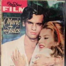 Cine: REVISTA FRANCESA FILM MARIE DES ISLES BELINDA LEE,ALAIN SAURY,DARIO MORENO,MAGALI NOËL,. Lote 227481710