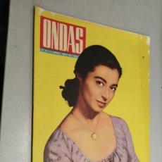 Cine: REVISTA ONDAS Nº 247 / 2ª QUINCENA MARZO 1963. Lote 227548146