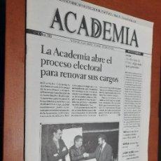 Cine: ACADEMIA 90. BOLETÍN DE CINE DE LA ACADEMIA. GRAPA. BUEN ESTADO. DIFICIL. Lote 227644555