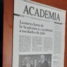 Cine: ACADEMIA 92. BOLETÍN DE CINE DE LA ACADEMIA. GRAPA. BUEN ESTADO. DIFICIL. Lote 227644571