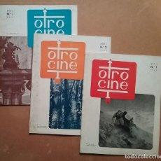 Cine: CINE CINÉFILOS REVISTA OTRO CINE LOTE N° 1 - 2 - 3 AÑO 1952. Lote 227840815