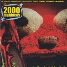 Cinema: NUEVO 2000 MANIACOS Nº53 - ESPECIAL MUÑECOS. Lote 228004795