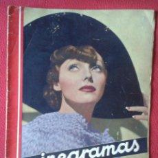 Cine: REVISTA CINEGRAMAS NÚM. 42 30 JUNIO DE 1935 ADRIENNE AMES GINGER ROGERS CARLOS GARDEL MIRNA LOY..ETC. Lote 228007340