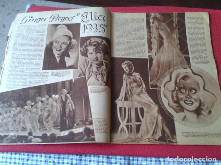 Cine: REVISTA CINEGRAMAS NÚM. 42 30 JUNIO DE 1935 ADRIENNE AMES GINGER ROGERS CARLOS GARDEL MIRNA LOY..ETC - Foto 6 - 228007340