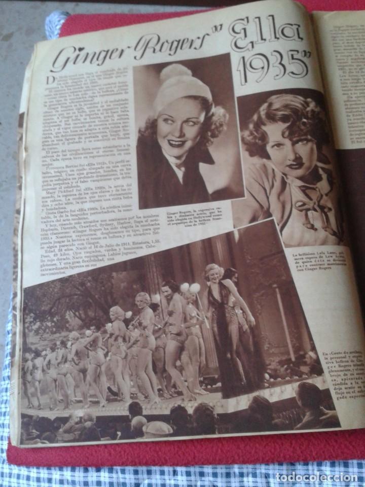 Cine: REVISTA CINEGRAMAS NÚM. 42 30 JUNIO DE 1935 ADRIENNE AMES GINGER ROGERS CARLOS GARDEL MIRNA LOY..ETC - Foto 7 - 228007340