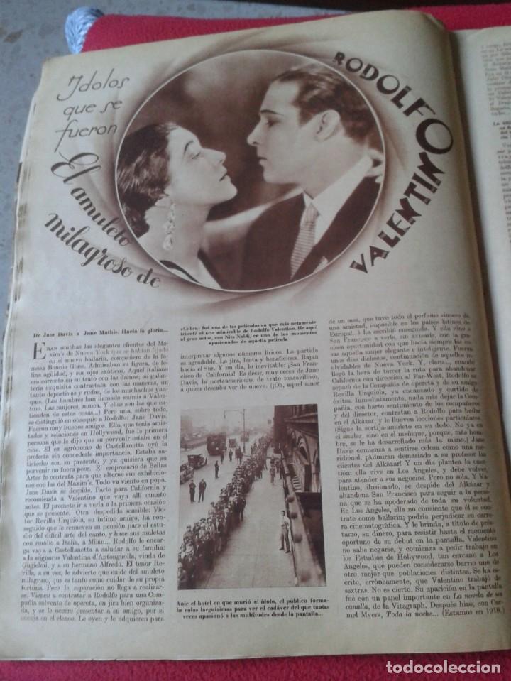 Cine: REVISTA CINEGRAMAS NÚM. 42 30 JUNIO DE 1935 ADRIENNE AMES GINGER ROGERS CARLOS GARDEL MIRNA LOY..ETC - Foto 9 - 228007340