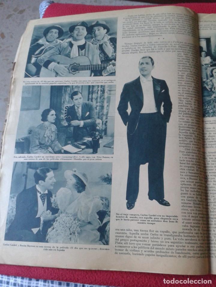 Cine: REVISTA CINEGRAMAS NÚM. 42 30 JUNIO DE 1935 ADRIENNE AMES GINGER ROGERS CARLOS GARDEL MIRNA LOY..ETC - Foto 11 - 228007340