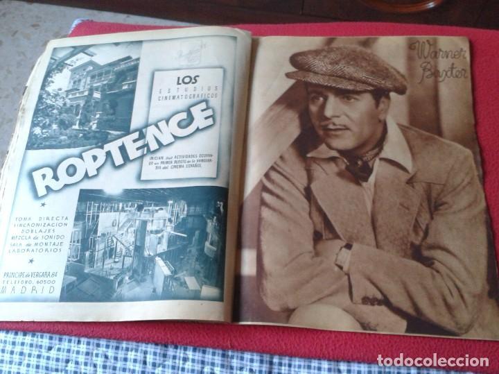 Cine: REVISTA CINEGRAMAS NÚM. 42 30 JUNIO DE 1935 ADRIENNE AMES GINGER ROGERS CARLOS GARDEL MIRNA LOY..ETC - Foto 13 - 228007340