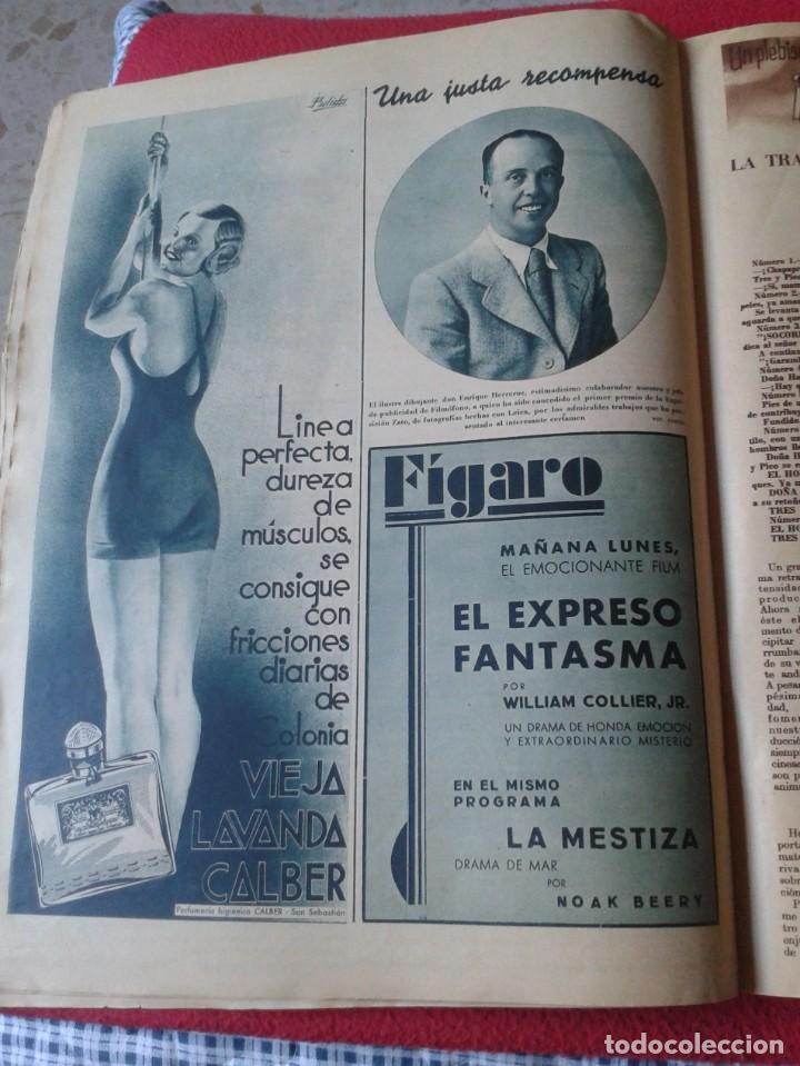 Cine: REVISTA CINEGRAMAS NÚM. 42 30 JUNIO DE 1935 ADRIENNE AMES GINGER ROGERS CARLOS GARDEL MIRNA LOY..ETC - Foto 14 - 228007340