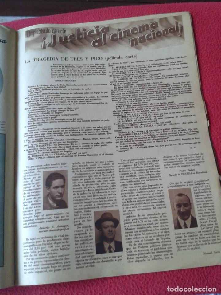 Cine: REVISTA CINEGRAMAS NÚM. 42 30 JUNIO DE 1935 ADRIENNE AMES GINGER ROGERS CARLOS GARDEL MIRNA LOY..ETC - Foto 15 - 228007340