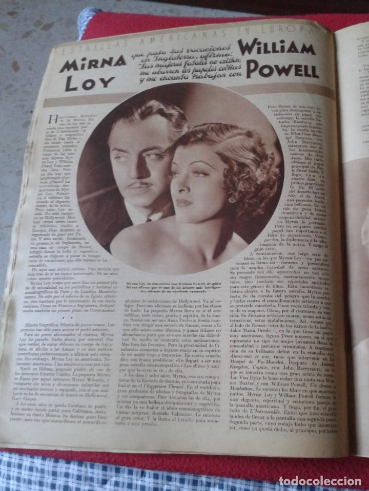 Cine: REVISTA CINEGRAMAS NÚM. 42 30 JUNIO DE 1935 ADRIENNE AMES GINGER ROGERS CARLOS GARDEL MIRNA LOY..ETC - Foto 16 - 228007340