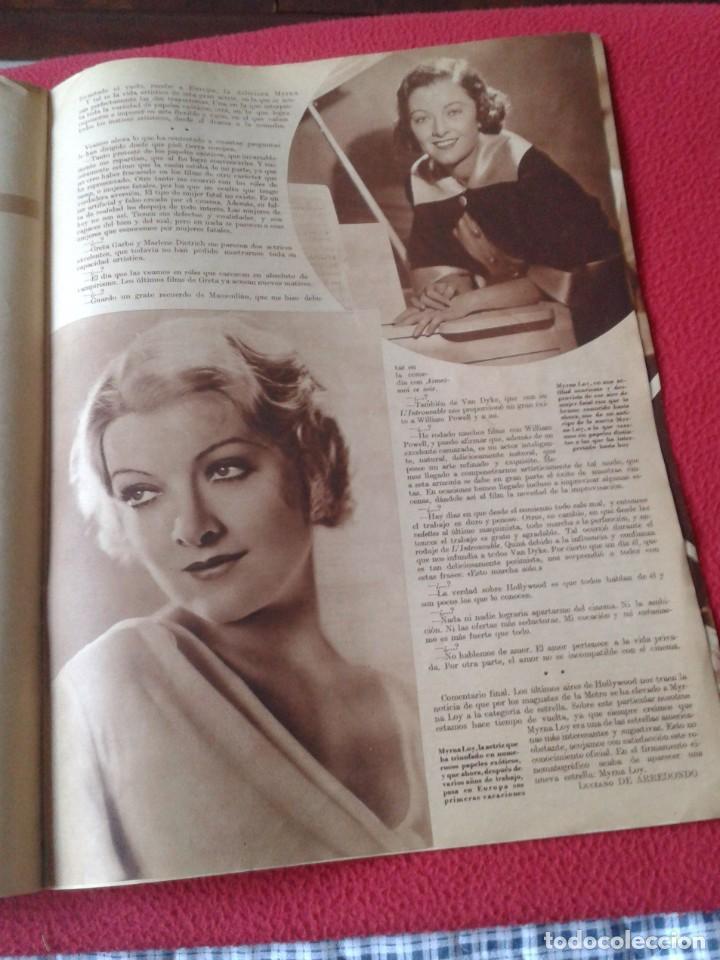 Cine: REVISTA CINEGRAMAS NÚM. 42 30 JUNIO DE 1935 ADRIENNE AMES GINGER ROGERS CARLOS GARDEL MIRNA LOY..ETC - Foto 17 - 228007340